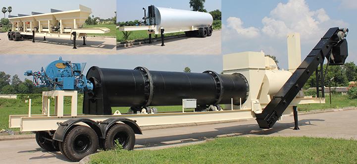 mobile-asphalt Mobile Asphalt Mixing Plant