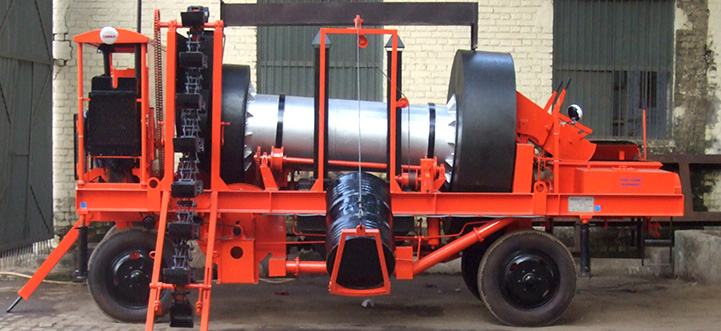 Hot Mix Plant Mobile Hot Mix Plant From Speedcrafts Limited